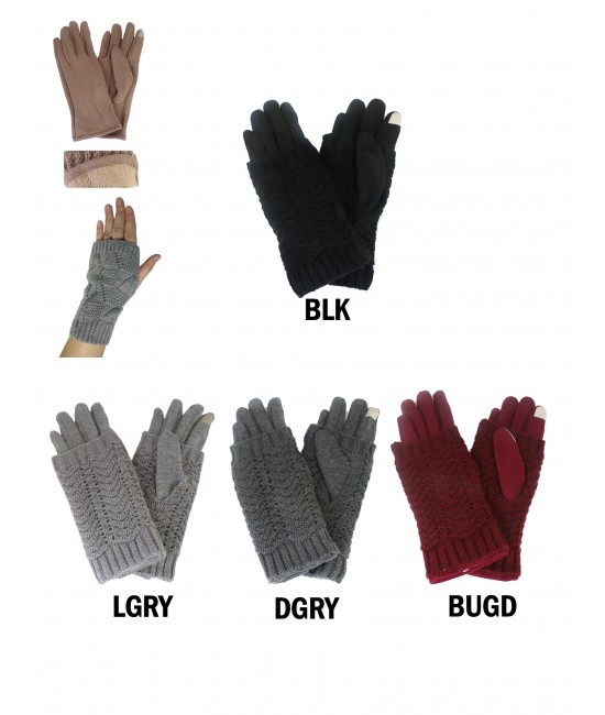 Magic Knit Touch Screen Glove