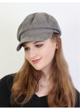 Winter Warm Wool Beret /Grey