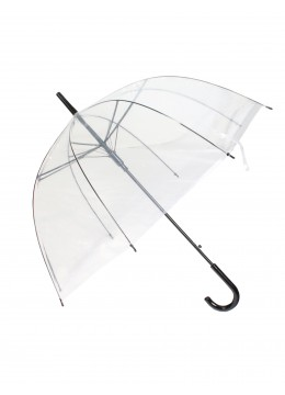 Clear Transparent Rain Umbrella
