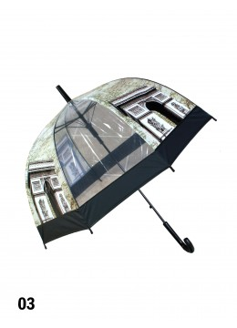 Paris, Arch of Triumph Print Stick Umbrella