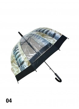 Leaning Tower of Pisa Print Stick Umbrella