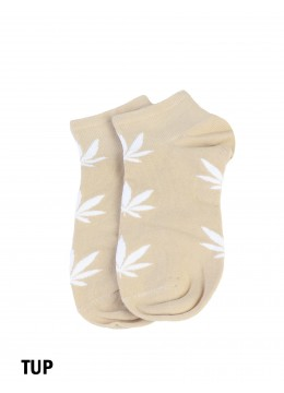 Women's Cannabis Print Ankle Socks