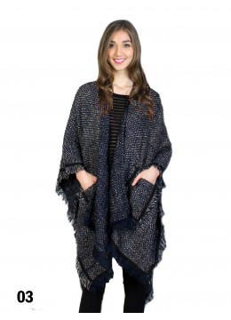 Chic & Comfortable Oversize Knit Cape