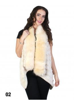 Faux Fur Fashion Vest