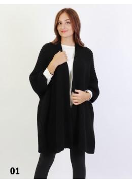 Knits Fashion Vintage Sleeve Cape