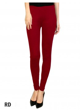 Full Length Stretch Legging Red