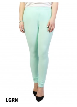 Full Length Stretch Legging /Light Green