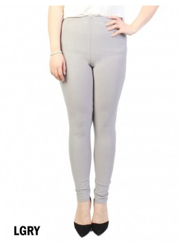 Full Length Stretch Legging /Light Grey