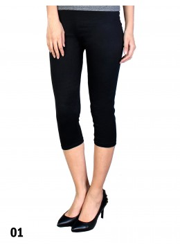 Capri Stretch Legging /Black