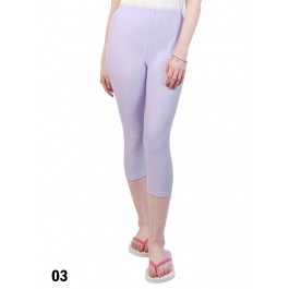 Capri Stretch Legging /Light Purple