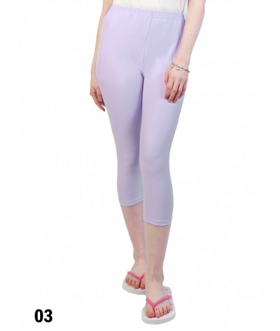 Capri Stretch Legging /Light Purple