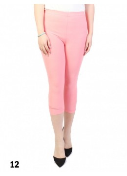 Capri Stretch Legging /Coral