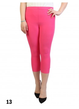 Capri Stretch Legging /Fuchsia