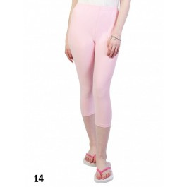 Capri Stretch Legging /Light Pink