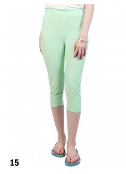 Capri Stretch Legging /Light Green