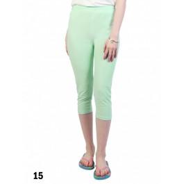 Capri Stretch Legging /Light Green