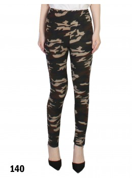 Camouflage Pattern Stretchy Legging