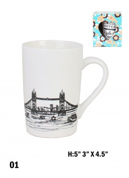 Landmark Print Mug /London Bridge