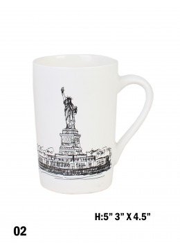 Landmark Print Mug / Leaning Tower of Pisa