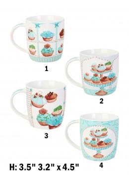 Cup Cake Print Mug