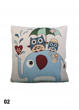 Fashion Elephant Print Cushion