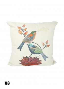 Birds Print Cushion & Filler