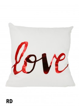Love Print Cushion & Filler