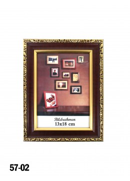 Wooden Picture Frame W/ Gold Lining