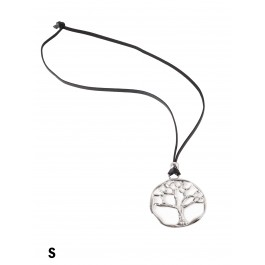 Rope Necklace W/ Tree Pendant