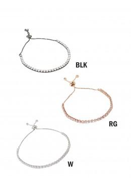 Adjustable Rhinestone Stretch Bracelet