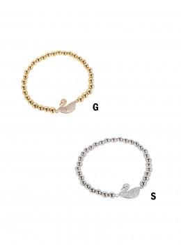 Swan Bead Bracelets