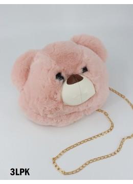 Fashion Bear Plushie Bag