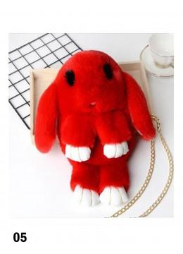 Cute Plush Bunny Bag /Red