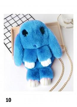 Cute Plush Bunny Bag /LBlue