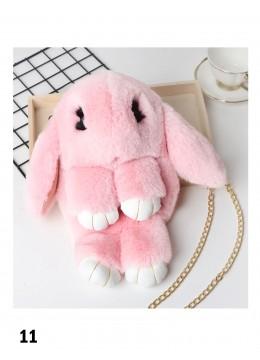 Cute Plush Bunny Bag /Pink
