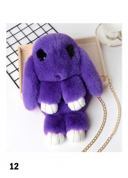Cute Plush Bunny Bag /Purple