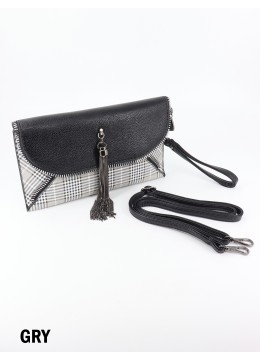 Premium Faux Leather Tassel Cross-body Bag