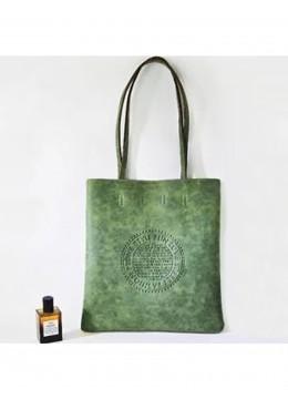 Solid Color Matte PU Tote Bag