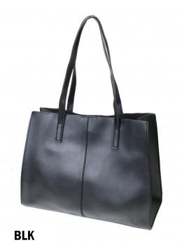 Solid Color Fashion Tote Bag