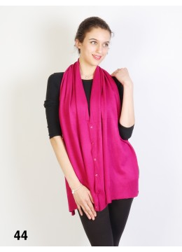 Multi-Use Scarf/Cape W/Buttons /Fuchsia