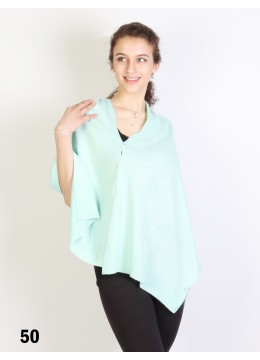 Multi-Use Scarf/Cape W/Buttons /Mint