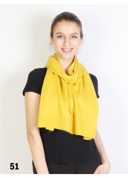 Multi-Use Scarf/Cape W/Buttons /Yellow