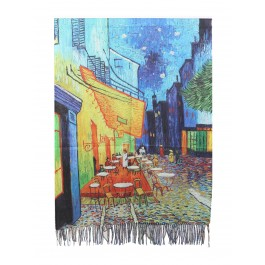 Premium Oil Painting Fashion Scarf