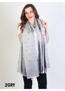 Fashion Spiral Design Fashion Scarf
