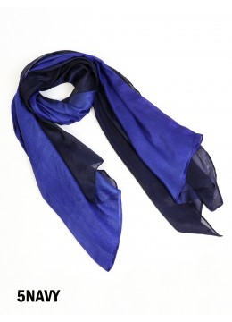 Two Tone Ombre Light Weight Fashion Scarf